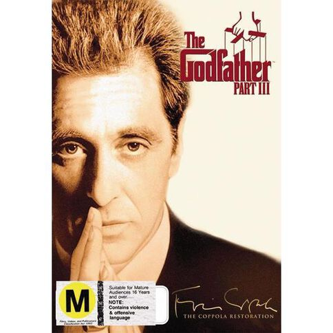Godfather Part Restored DVD 1Disc