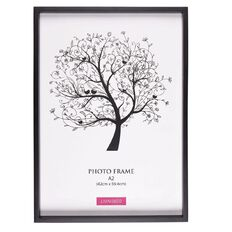 Living & Co Frame Eden Black A2