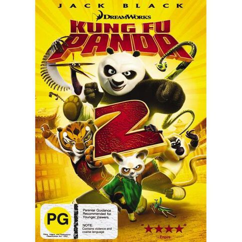 Kung Fu Panda 2 The Kaboom Of Doom DVD 1Disc