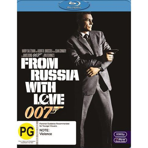 From Russia with Love 2012 Version Blu-ray 1Disc