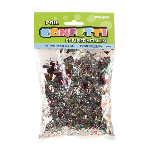 Unique Confetti Foil 2.5oz