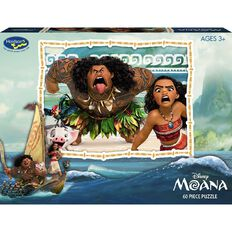 Moana Disney Boxed 60 Piece Puzzle Assorted