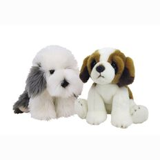 Silky Dogs Lying Large Assorted 30cm