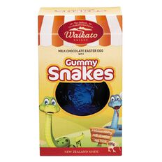 Waikato Valley Chocolates #6 Chocolate Egg with Snakes 105g Assorted