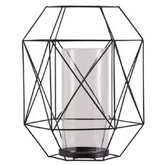 Living & Co Candle Holder Graphic Wire