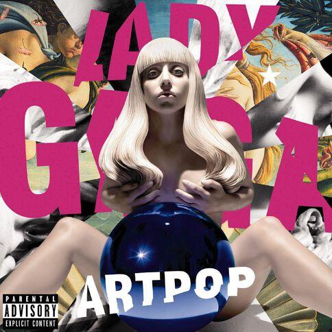 Artpop CD by Lady Gaga 1Disc