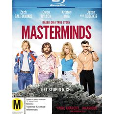 Masterminds Blu-ray 1Disc