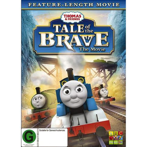 Thomas & Friends Tale of the Brave DVD 1Disc