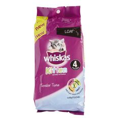 Whiskas Kitten Tender Tuna 85g 4 Pack