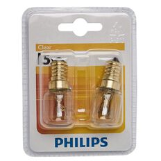 Philips Pilot Bulb 15W E14  220-240V T25 Clear
