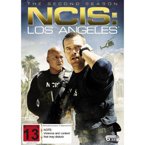 NCIS LA Season 2 DVD 1Disc