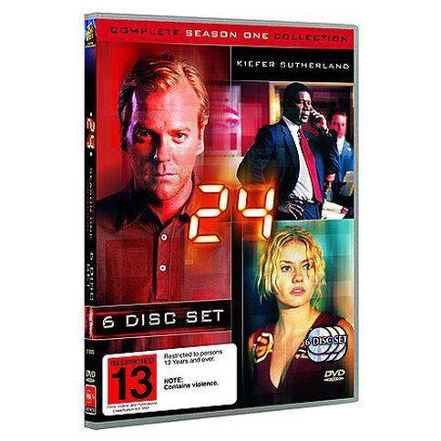 24 Season 1 DVD 6Disc