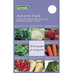 Carnival Seeds Autumn Vegetable 8 Pack