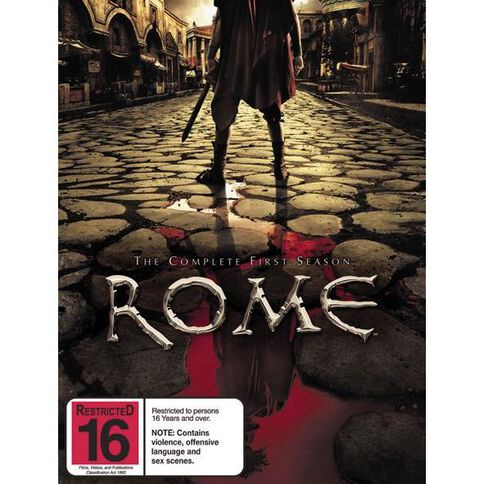 Rome Series 1 DVD 6Disc