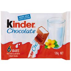 Kinder Chocolate T6 126g