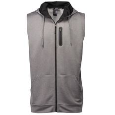 Active Intent Men's Sleeveless Shoulder Tape Hoodie
