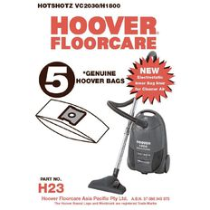 Hoover Vacuum Bags H87 1& H22 5 Pack