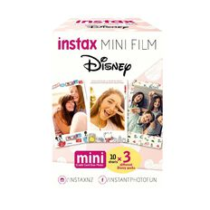 Disney Fujifilm Instax Mini Film 30 Pack Assorted