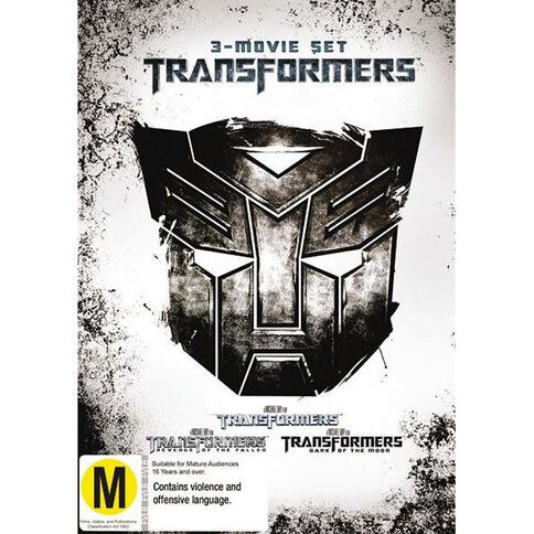 Transformers 3 Movie Set DVD 3Disc