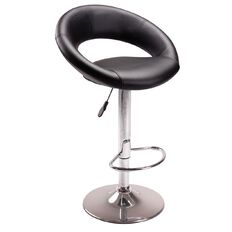 Reside Melrose Barstool Black