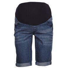 Maya Mum To Be Denim Maternity Shorts