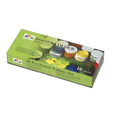 Artwise Poster Paint 75ml pack of 10