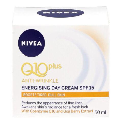 Nivea Visage Day Cream Q10 Plus Energising SPF15 50ml