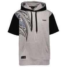 Haka Men's Manawa Short Sleeve Hoodie