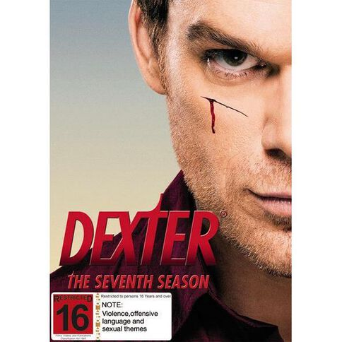 Dexter Season 7 DVD 4Disc