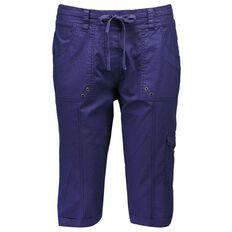 Maya Zip Cargo Pull-On Shorts