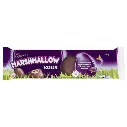 Cadbury Small Unfoiled Marshmallow Egg 6 Pack
