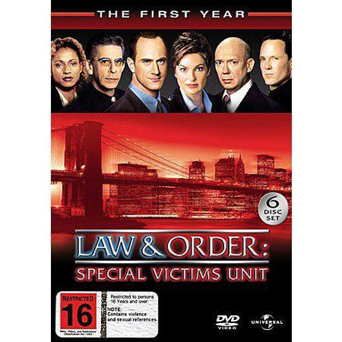 Law & Order - Special Victims Unit: Season 1 6DVD