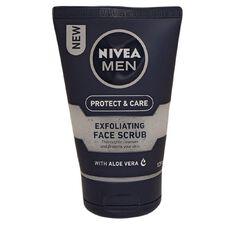 Nivea Men Protect & Care Exfoliating Face Scrub 125ml