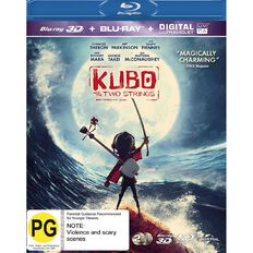 Kubo & The Two Strings 3D Blu-ray 2Disc