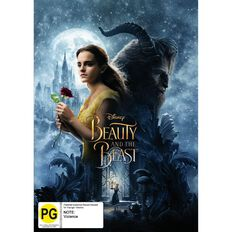 Beauty And The Beast 2017 DVD 1Disc