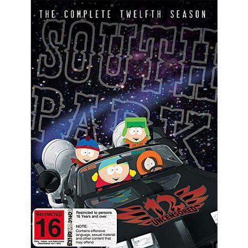 Southpark Season 12 DVD 3Disc