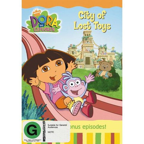 Dora The Explorer City Of Lost Toys DVD 1Disc