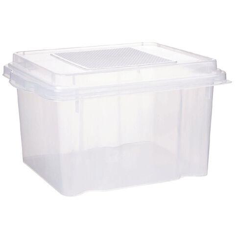 Italio Plastic File Storage Box 31L