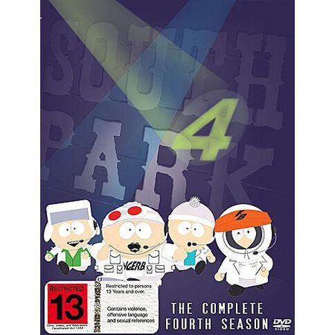 South Park Season 4 DVD 3Disc