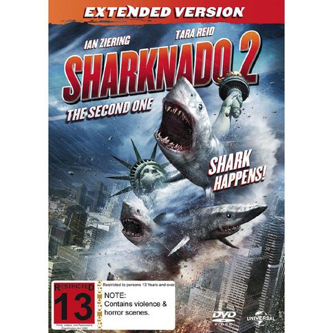 Sharknado 2 The Second One DVD 1Disc