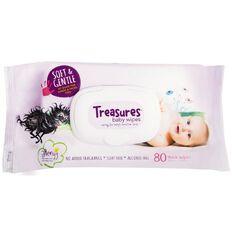 Treasures Baby Wipes 80 Pack