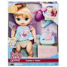 Baby Alive Twinkles 'n Tinkles Blonde