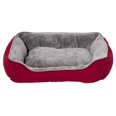 Fur'life Cosy Bone Bed Red 63x48cm