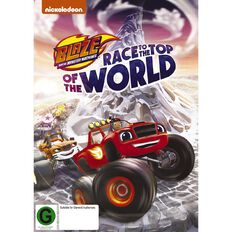 Blaze And The Monster Machines The Top Of The World DVD 1Disc