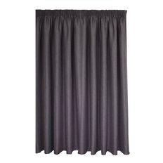 Elemis Curtains Novo Pencil Pleat Stone