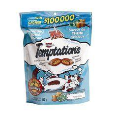 Whiskas Temptations Super Mega Pack Tempting Tuna Flavour 350g