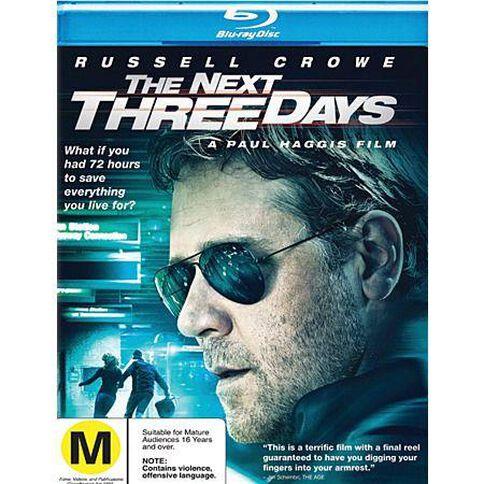 Next Three Days Blu-ray 1Disc
