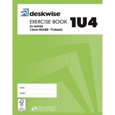 Deskwise Exercise Book 1U4 12mm Ruled 24 Leaf