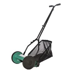 Hand Lawnmower 14 inch Blade with Catcher