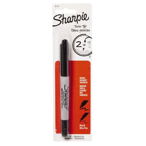 Sharpie Sharpie Fine Tip Marker Black
